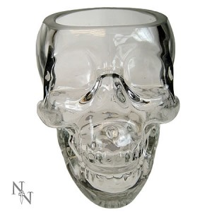 Nemesis Now Crystal Skull Glass