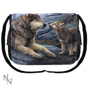 Nemesis Now Daniel Smith Brother Wolf Messenger Bag