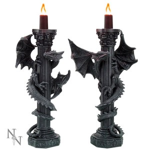Nemesis Now Guardians of the Light Candle Holders