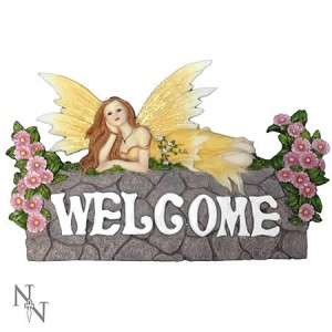 Nemesis Now Faerie Welcome Sign
