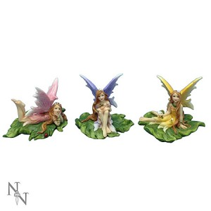 Nemesis Now Fairies of Melody (set of 3) Fairy Figurines