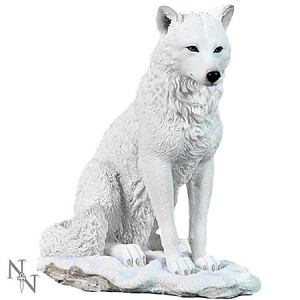 Nemesis Now Ghost Wolf Figurine