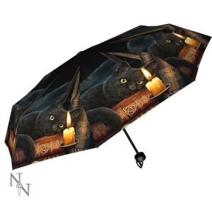 Nemesis Now Lisa Parker Witching Hour Umbrella
