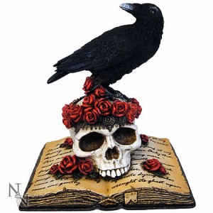 Nemesis Now Heartaches Reflection Raven Figurine