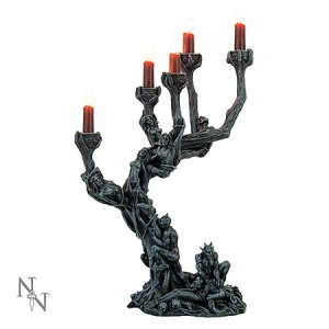 Nemesis Now Hells Demons Candle Holder