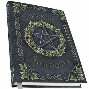 Nemesis Now Art Ivy Pentagram Embossed Book of Shadows