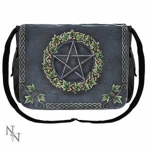 Nemesis Now Art Ivy Pentagram Messenger Bag