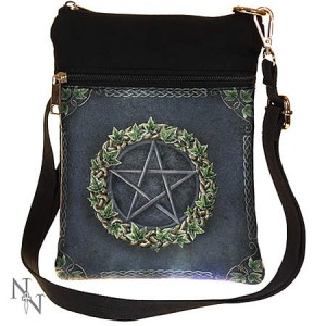 Nemesis Now Art Ivy Pentagram Shoulder Bag