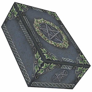 Nemesis Now Art Ivy Pentagram Tarot Box
