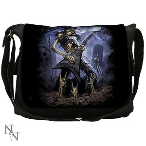 Nemesis Now James Ryman Play Dead Messenger Bag