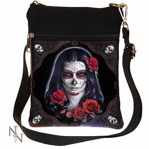 Nemesis Now James Ryman Sugar Skull Shoulder Bag