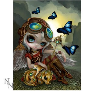 Jasmine Becket-Griffith Clockwork Dragonling 3D Picture