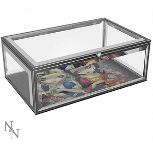 Jasmine Becket-Griffith Alice & Snow White Glass Jewellery Box