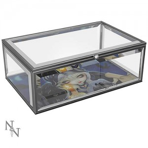 Jasmine Becket-Griffith Sign of Our Parting Glass Jewellery Box