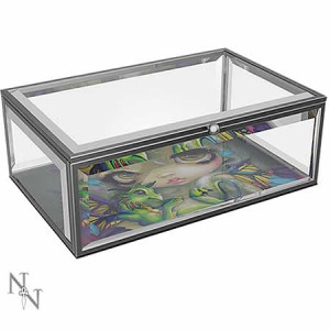 Jasmine Becket-Griffith Darling Dragonling Glass Jewellery Box