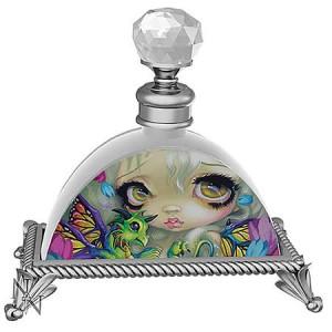 Jasmine Becket-Griffith Darling Dragonling Glass Perfume Bottle
