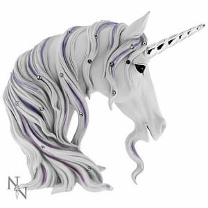 Nemesis Now Jewelled Magnificence Unicorn Head Figurine 15cm