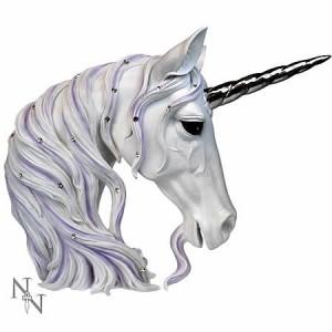 Nemesis Now Jewelled Magnificence Unicorn Head Figurine 31cm