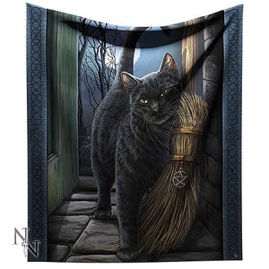 Nemesis Now Lisa Parker A Brush With Magick Throw
