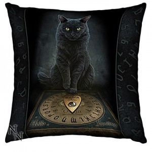 Nemesis Now Lisa Parker His Masters Voice Cushion 42cm
