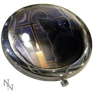 Nemesis Now Lisa Parker Midnight Vigil Compact Mirror