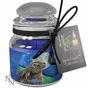 Nemesis Now Lisa Parker Moongazing Hare Candle Sandalwood