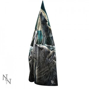 Nemesis Now Lisa Parker Wolf Song Scarf