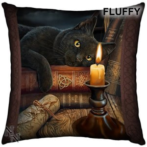 Nemesis Now Lisa Parker Witching Hour Fluffy Cushion