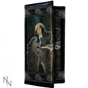 Nemesis Now Lisa Parker Wolf Song Purse