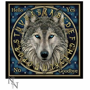 Nemesis Now Lisa Parker Wolf Spirit Board