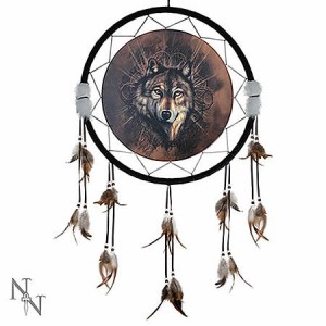 Nemesis Now Lone Wolf Dreamcatcher Medium