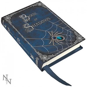 Nemesis Now Luna Lakota Embossed Book Of Shadows Journal
