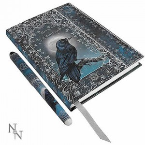 Nemesis Now Luna Lakota Embossed Book of Shadows
