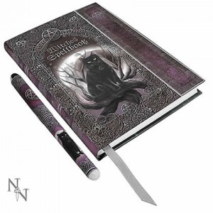 Nemesis Now Luna Lakota Embossed Witches Spell Book