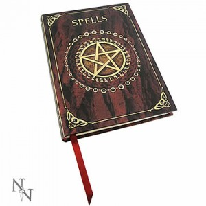 Nemesis Now Luna Lakota Red Pentagram Embossed Journal