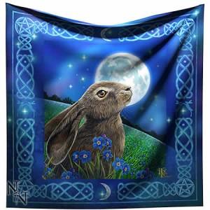 Nemesis Now Lisa Parker Moongazing Hare Altar Cloth