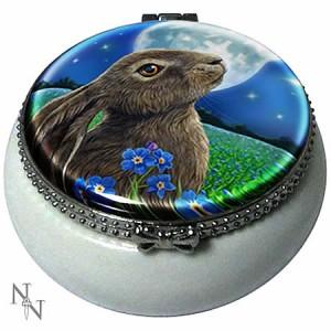 Nemesis Now Lisa Parker Moongazing Hare Trinket Box