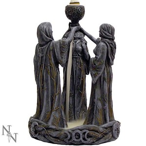 Nemesis Now Mother, Maiden, Crone Backflow Incense Burner Figurine