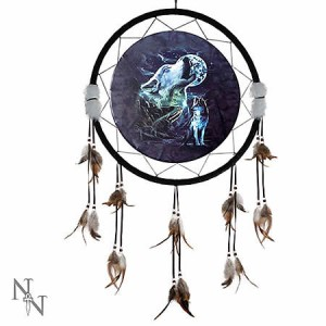 Nemesis Now Night Wolf Dreamcatcher