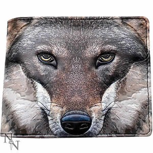 Nemesis Now Portrait of a Wolf Men's Wallet