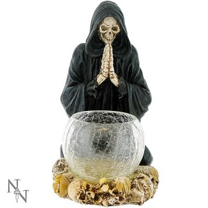 Nemesis Now Reapers Prayer Candle Holder