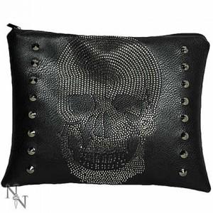 Nemesis Now Rhinestone Skull Bag