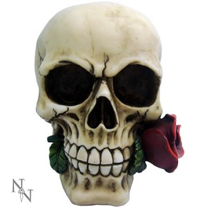 Nemesis Now Rose From The Dead Skull