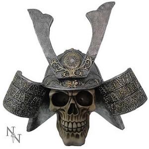 Nemesis Now Samurai Skull
