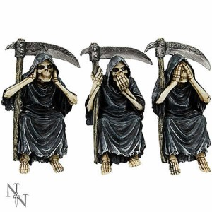 Nemesis Now See No, Hear No, Speak No Evil Reapers