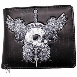 Nemesis Now Skull and Wings Men's Wallet