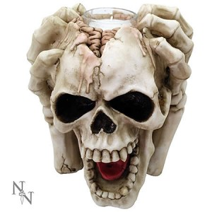Nemesis Now Splitting Headache Tealight Holder