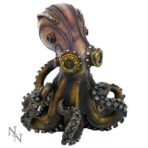 Nemesis Now Octo-Steam Steampunk Figurine