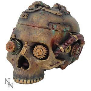 Nemesis Now Steampunk Skull