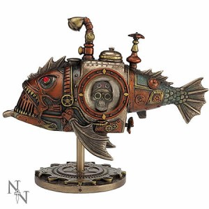 Nemesis Now Steampunk Sub Piranha